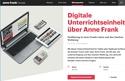 Digitale Unterrichtseinheit über Anne Frank